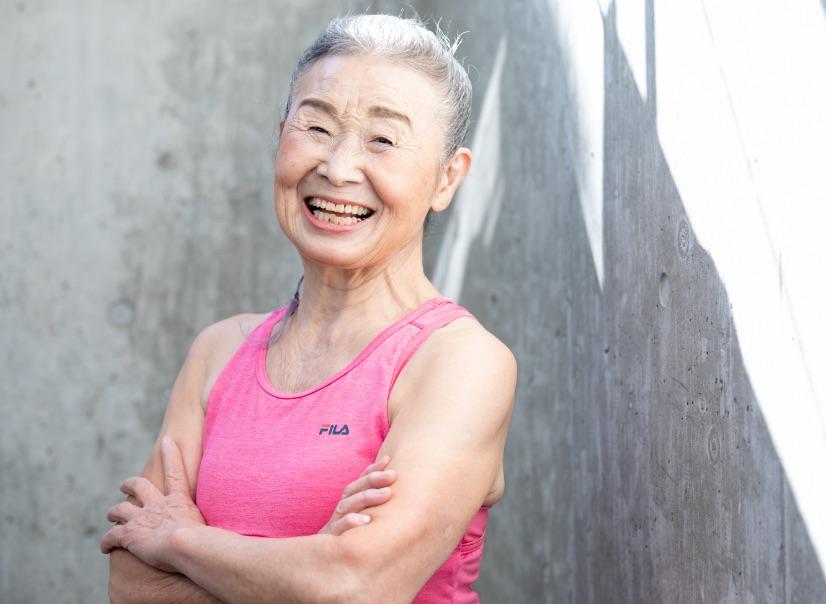 全球樂齡 日本最高齡健身教練  90歲瀧島末香奶奶越活越健康!