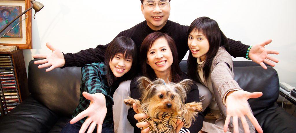 新父女關係——蕭文傑 做女兒的哥哥弟弟,還有好閨密!
