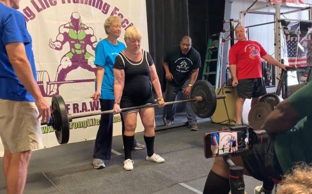 全球樂齡|金氏世界紀錄認證 地表最強壯阿嬤!美國百歲人瑞征戰健力比賽